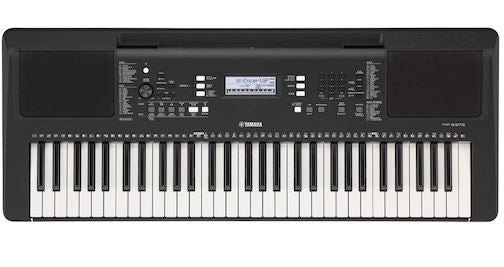 Yamaha PSRE373 Portable Keyboard 61 Note New