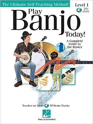 Play Banjo Today Lvl 1 Bk/Cd