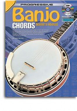 Progressive Banjo Chords Includes Tab Bk/Cd