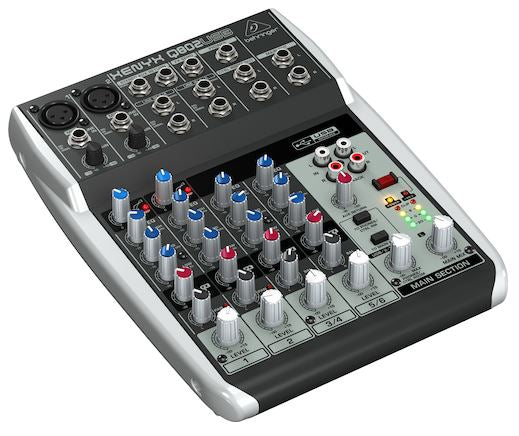 Behringer 8-in 2-Bus Mixer W/Xenyx Mic Preamp