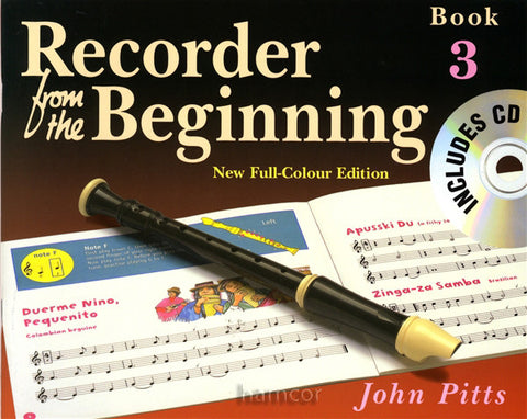 Recorder Beginning Pupils Bk 3 Bk/Cd New Ed