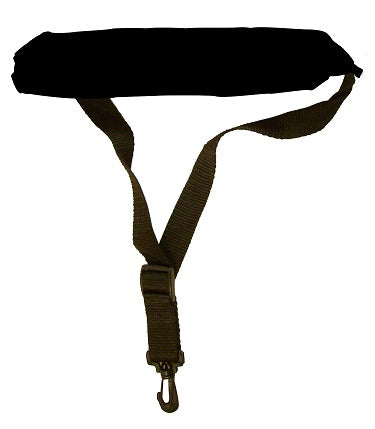 Sax Strap with Plush Padding BLK