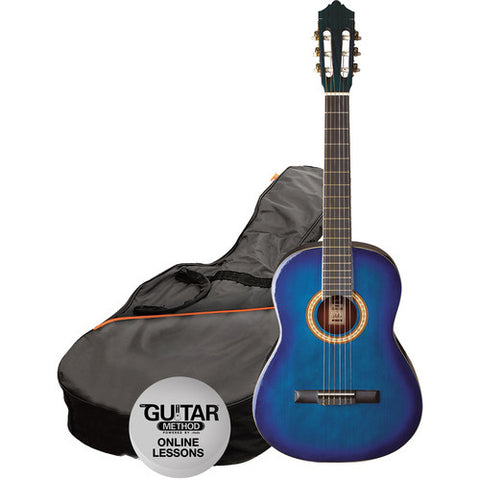 1/2 Size Classical Gtr Pack Trans Blueburst