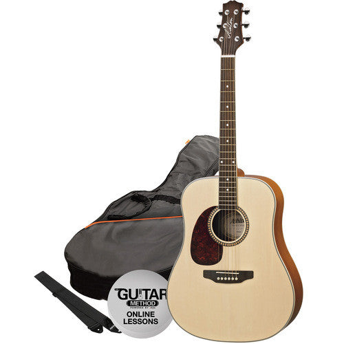 Acoustic Gtr Pack Natural Matte L/H