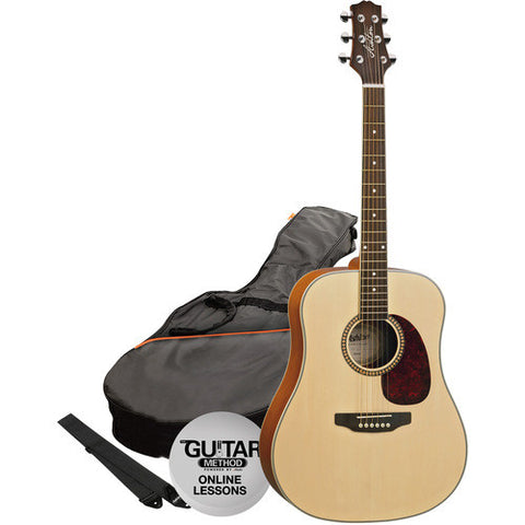Acoustic Gtr Pack Natural D25 Starter