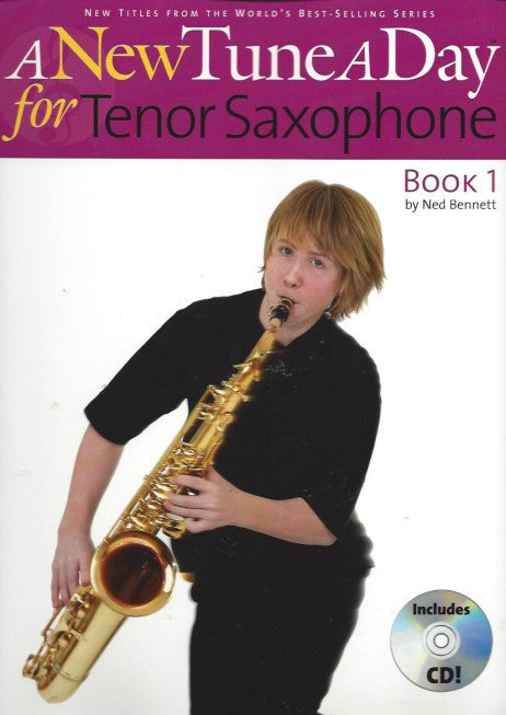Tune A Day Tenor Sax Bk 1 Bk/Cd New Edition