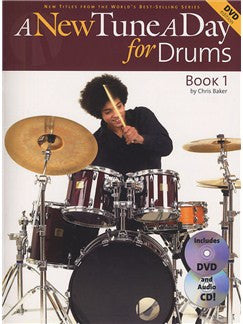 Tune A Day Drums Bk 1 New Bk/Cd/Dvd