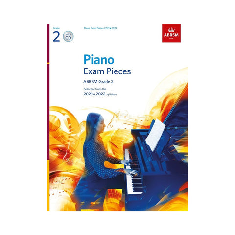 ABRSM Piano Exam Pieces Grade 2 2021-22 Book/CD