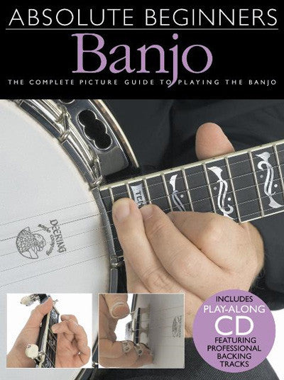 Absolute Beginners Banjo Bk/Cd