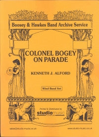Colonel Bogey For Military Band/March Card