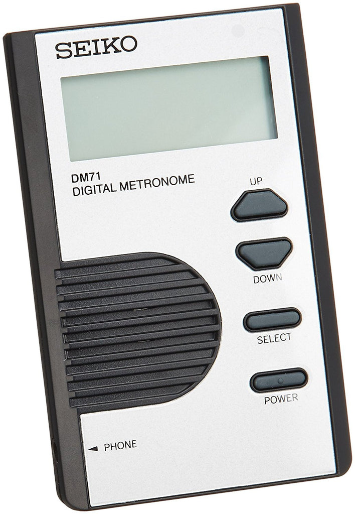 Digital Pocket Size Metronome Silver