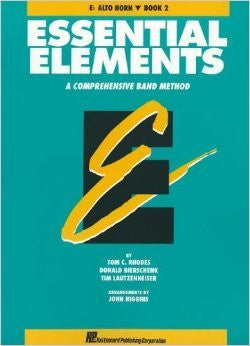 Essential Elements Bk 2 Alto Horn E Flat