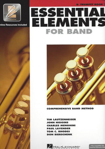 Essential Elements 2000 Bk 2 Tpt Bk/Cd
