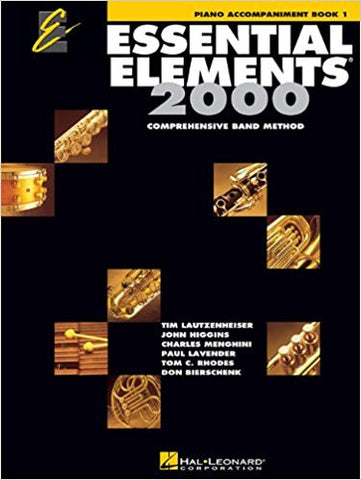 Essential Elements 2000 Bk 1 Pno Accomp