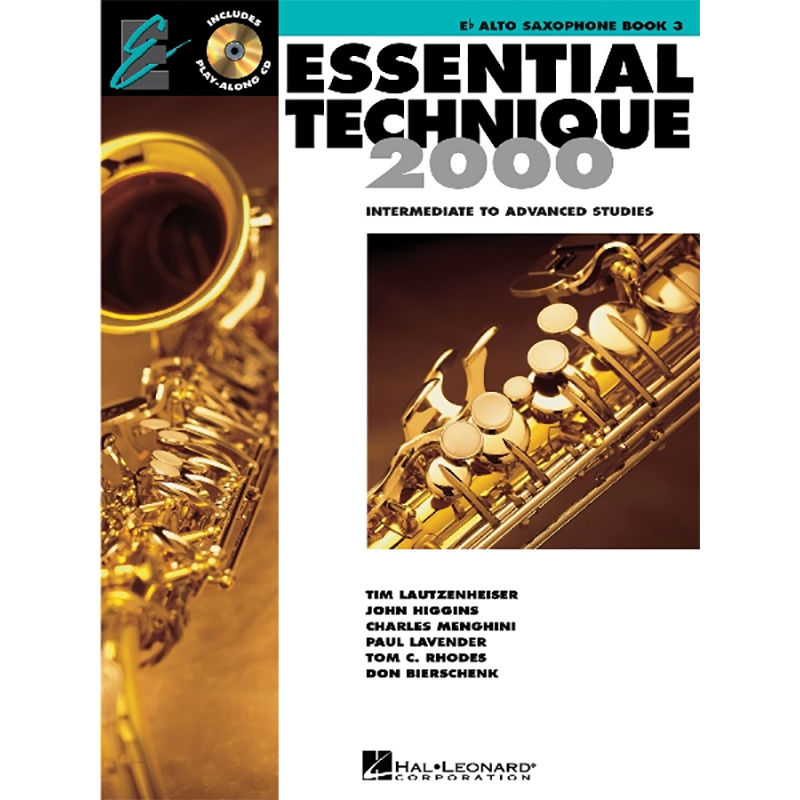 Essential Elements 2000 Bk 3 Technique Bk/Cd
