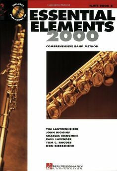Essential Elements 2000 Bk 2 Fl Bk/Cd