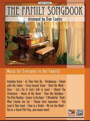 Family Songbook Ep Arr Coates