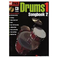 Fasttrack Drums Songbook 1 Bk 2 Bk/Cd