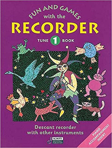 Fun And Games Recorder Tune Bk 1