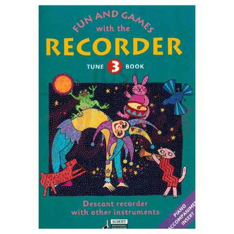 Fun And Games With Recorder Tune Bk 3