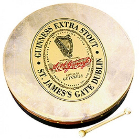 18 Inch Bodhran Pack Guinness Oval