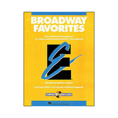 Broadway Favorites Ee Tenor Sax