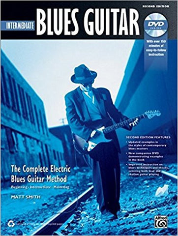 Intermediate Blues Guitar Bk/Cd