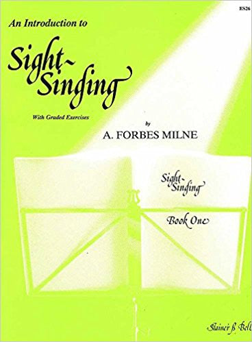 Introduction To Sight Singing Bk 1