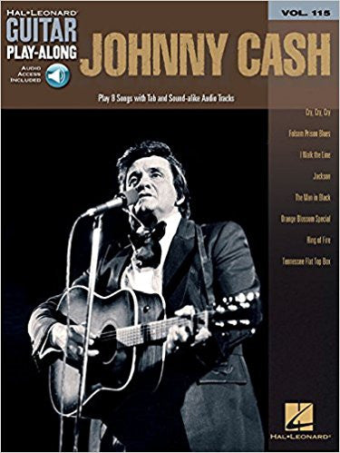 Johnny Cash Guitar Play Along V115 Bk/Cd