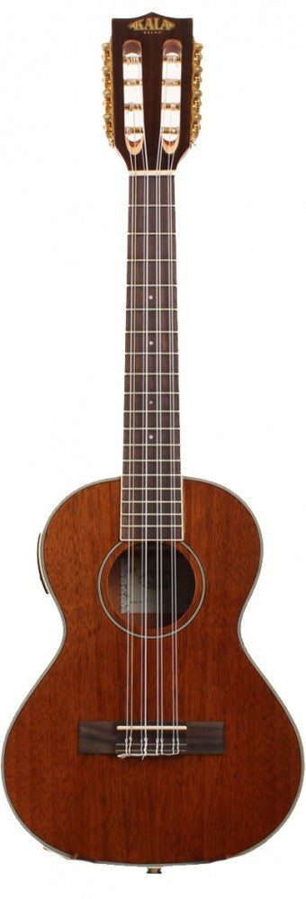 8 String Tenor Ukulele W/ Electronics & Case