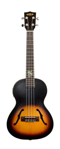Acoustic/Electric Tenor Ukulele Tobacco Burst Ar