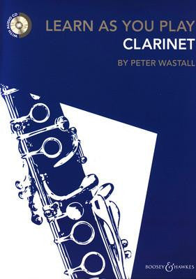 Learn As You Play Clarinet Revised Bk/Cd