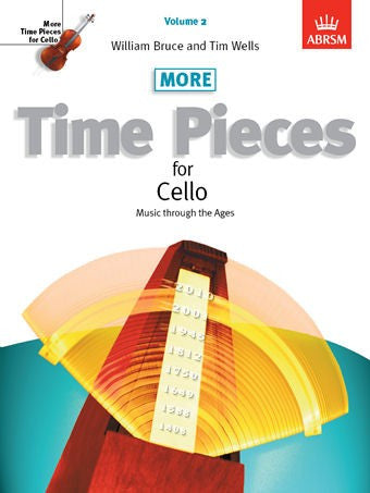 More Time Pieces For Cello Bk 2 Vc/Pno