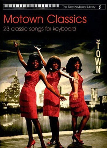 Easy Keyboard Library Motown Classics