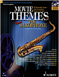 Movie Themes Tenor Sax Bk/Cd