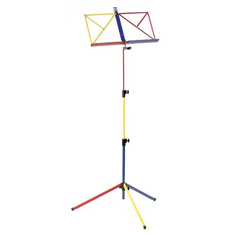 Advanced Folding Music Stand W/Bag Rainbow