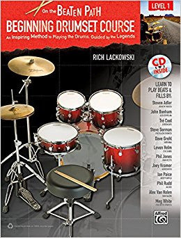 On The Beaten Path Beginning Drumset Course Lv1