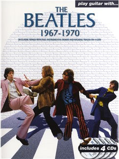 Play Guitar With The Beatles 1967-1970 Bk/Cd