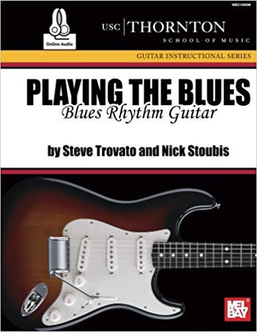 Playing The Blues Blues Rhythm Gtr Bk/Cd Set