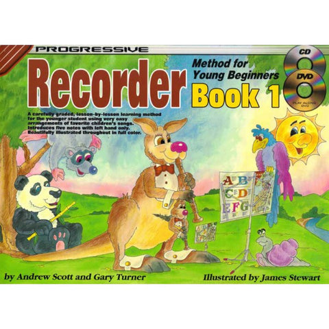 PROGRESSIVE RECORDER METH YNG BEGIN BK 1 PACK