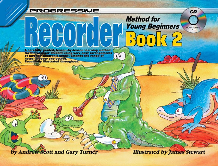 Progressive Recorder Meth For Yng Begin Bk 2 Bk/