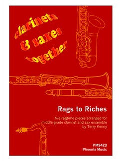 Rags To Riches For Cla/Sax Ens Arr Kenny