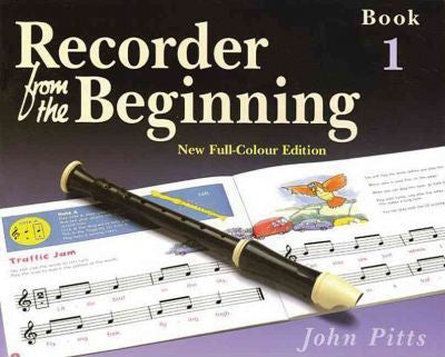RECORDER BEGINNING PUPILS BK 1 NEW ED