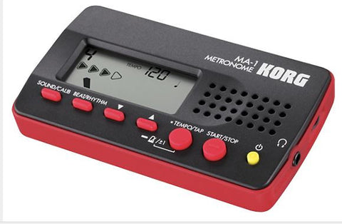 Digital Metronome- Black/Red