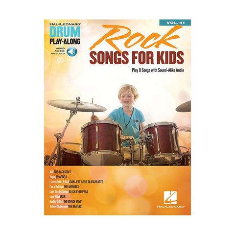 Rock Songs For Kids Drum Playalong