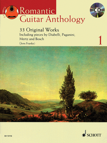 Guitar Anthology Bk 1 Bk/Cd Cplte