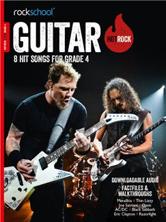 Hot Rock Guitar Grade 4 2014 Ed
