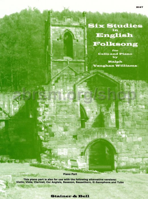 Studies 6 In English Folksong Vla/Pno