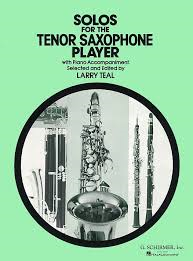 Solos For The Tenor Saxophone Player Ed Teal