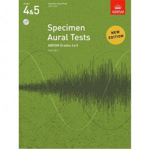 A B Aural Tests Gr 4-5 Bk/Cd 2011